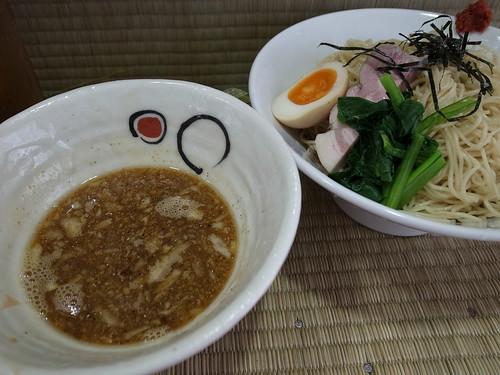 ra120524東京いまむら 地鶏と魚貝のつけ麺 大盛