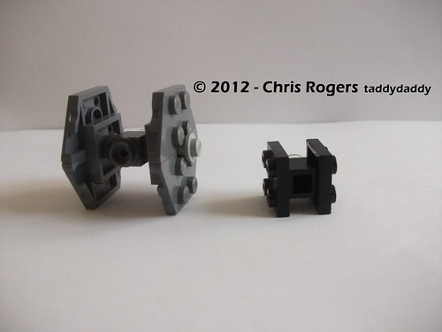 Mini Lego Tie Fighters