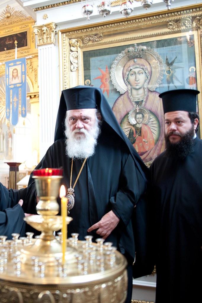 Икона Божией Матери Знамения Царскосельская