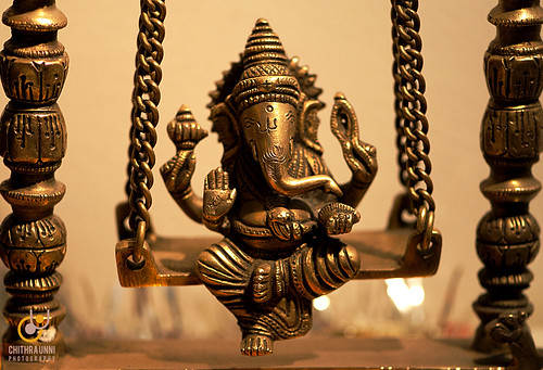 Ganapathy on swing :)