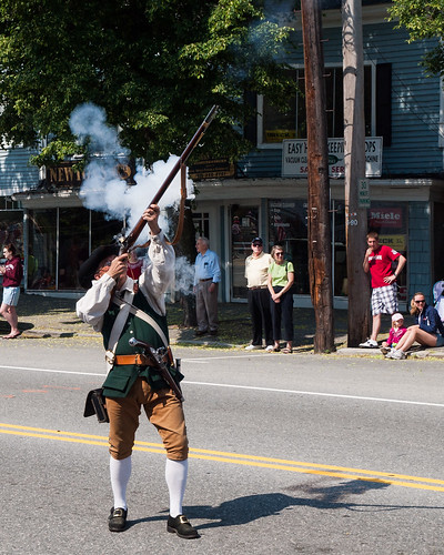 Memorial Day Minuteman by Peter E. Lee