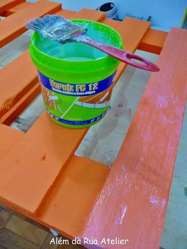 Protegendo a pintura