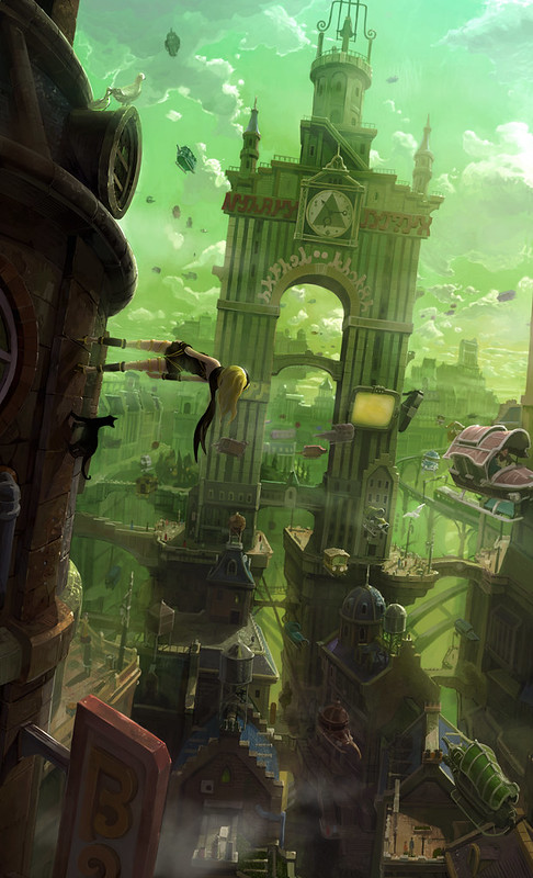 Gravity Rush: 2012 Into The Pixel