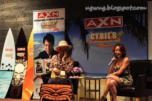 "Serena C interviewing ""Grandma Magi"" Cyril"
