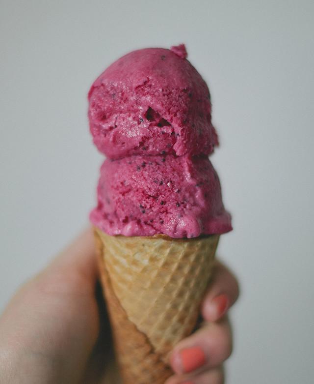 beet ice cream