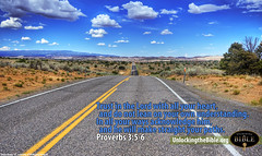 Proverbs 3:5-6 The Lord will Direct Your Path