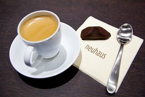 Indonesian Origin Espresso and Caprice praline chocolate