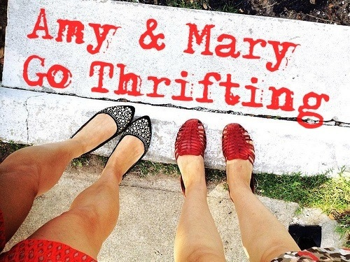 Amy and Mary Go Thrifting