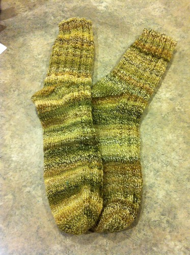 Handspun Swap Socks by Creations by Uli