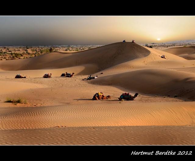 Khuri 2 - Thar Desert  Rajasthan Indien