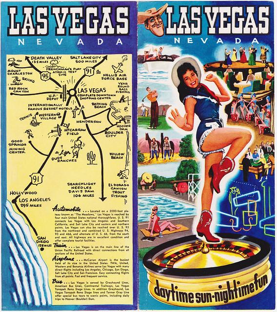 RETRO LAS VEGAS: 1950s Chamber of Commerce Brochure