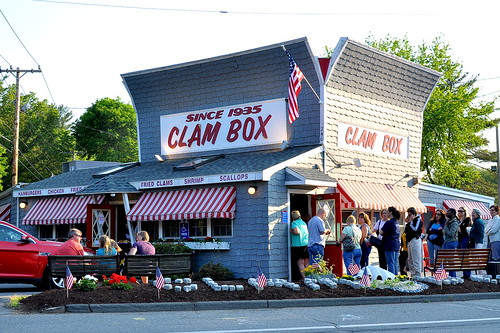 The Clam Box - Ipswich, MA