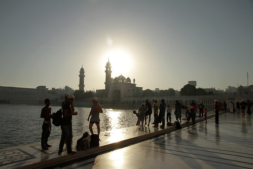 Amritsar Morning Bathing