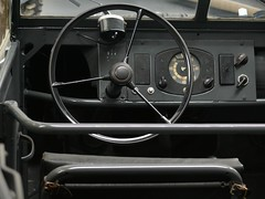 VW Typ 82 Kübelwagen grey 1944 dashboard