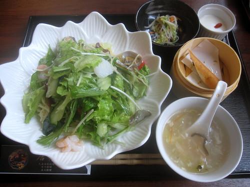 塩味和え麺@唐苑(練馬)