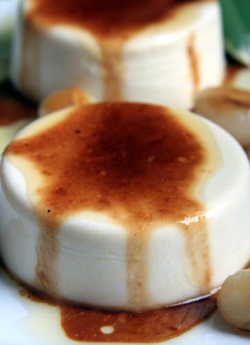 Vegan Panna Cotta with Brown Sugar Sauce