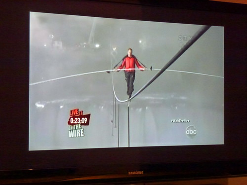 Nik Wallenda's tightrope walk over Niagara Falls is one for the history books