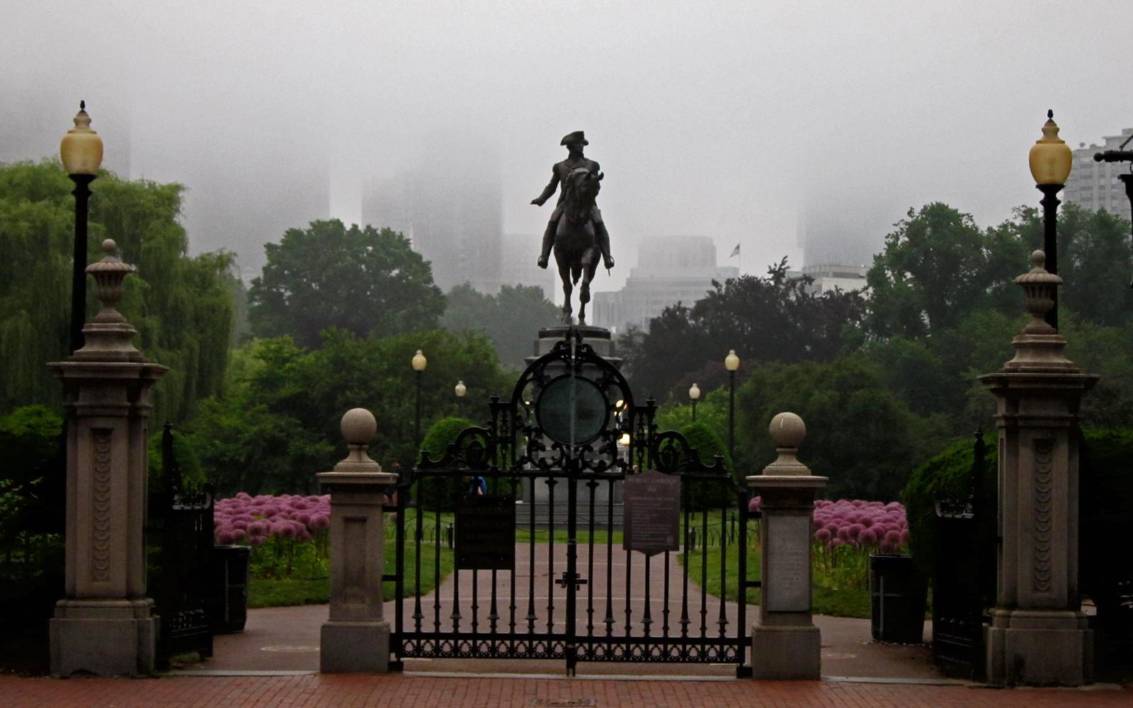 Boston Garden Entrances