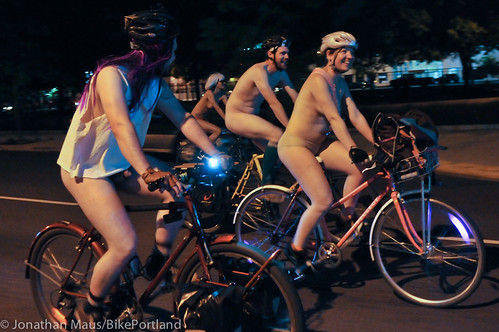 2012 World Naked Bike Ride - Portland-28