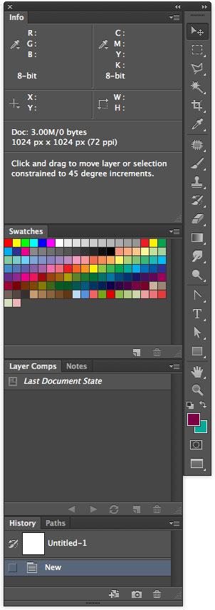 My Photoshop setup - Matt Gemmell