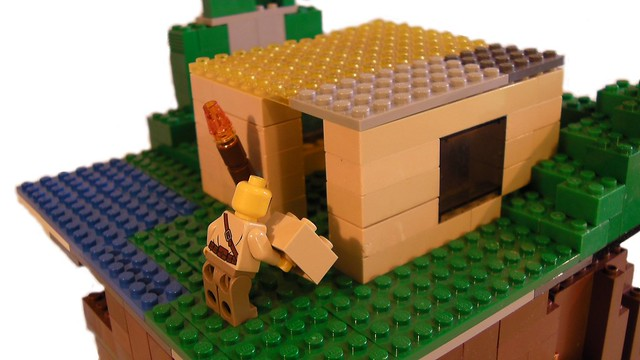 Lego Minecraft 8 - House