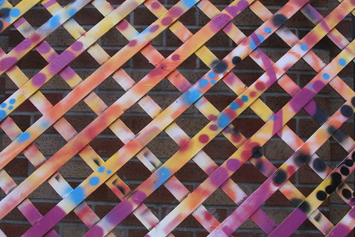 Colorful Fence Patterns