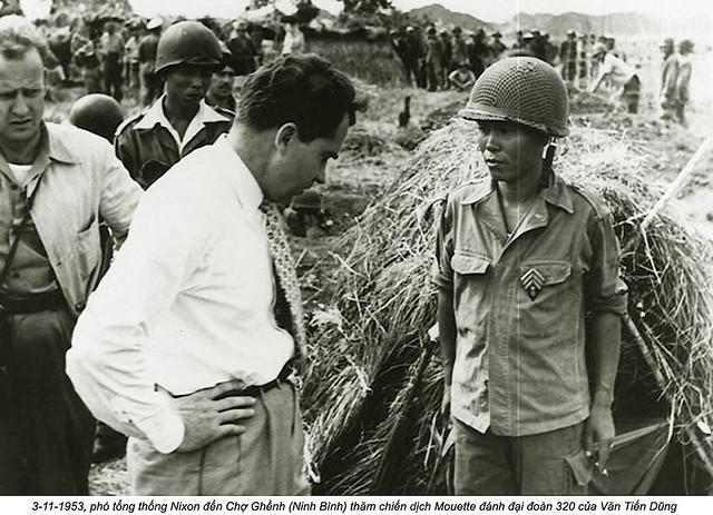 Ninh Bình (3-11-1953) - Phó TT Mỹ Nixon tại Chợ Ghềnh