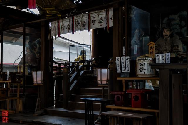 「拝殿」 水火天満宮 - 京都