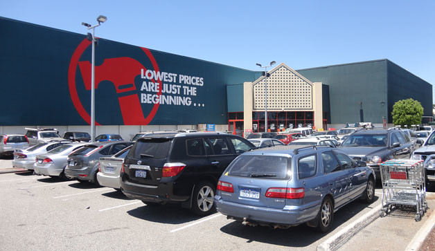 Bunnings consulting with business owners in Toowoomba (QLD)