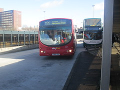 Ex trentbarton 641. At Stockport Bus Station en route to Manchester Airport...