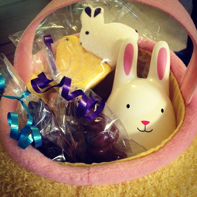 Happy Easter! Got my basket!