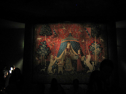 La Dame à la licorne: A mon seul désir, Musée National du Moyen Âge, Paris, 2008