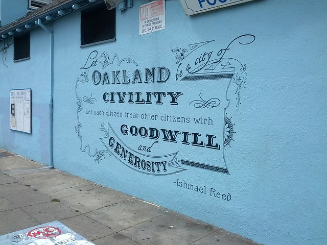 Let Oakland be a city of civility