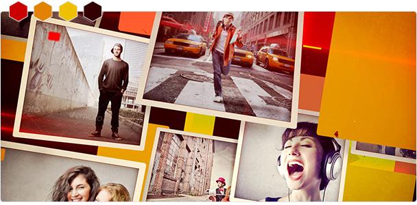 Custom-Color Photo Flip Slideshow 1