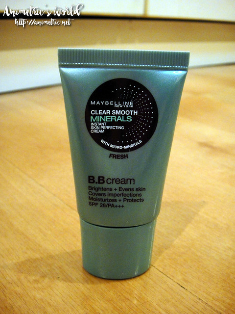 Maybelline Clear Smooth Minerals BB Cream