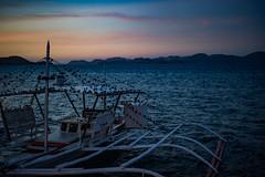 Palawan sunset; Coron, Philippines