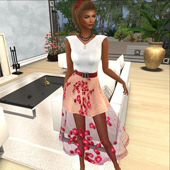More Than ever @ Designer Showcase- Hepburn Rose Dress