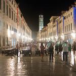Dubrovnik por la noche