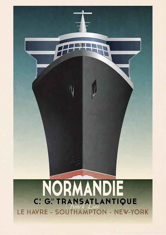 "Cassandre ""Normandie"" Redone"