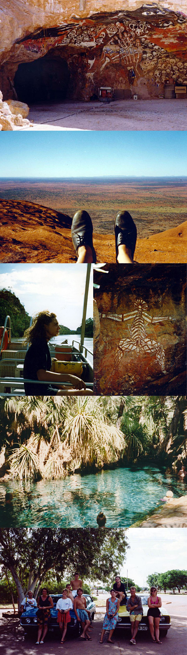 Down on memory lane : Australia 1991
