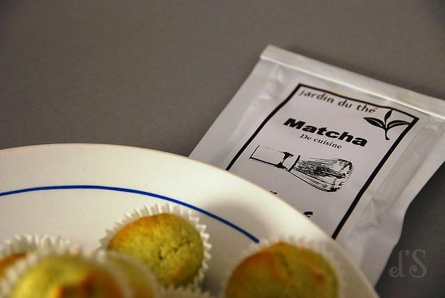 Moelleux citron amande et thé matcha