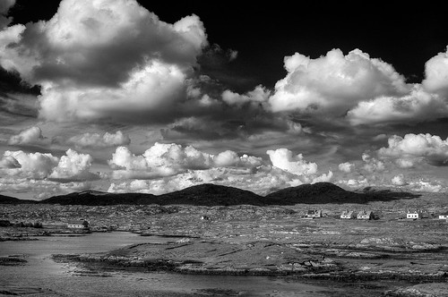 B&W Finsbay, Isle of Harris