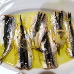 Marinated anchovies in Batelina