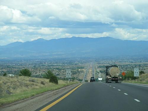 Into Santa Fe