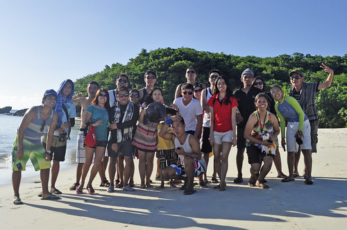 Pinoy Travel Addicts in Calaguas