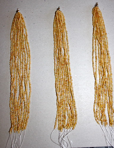 Seed Bead Strands