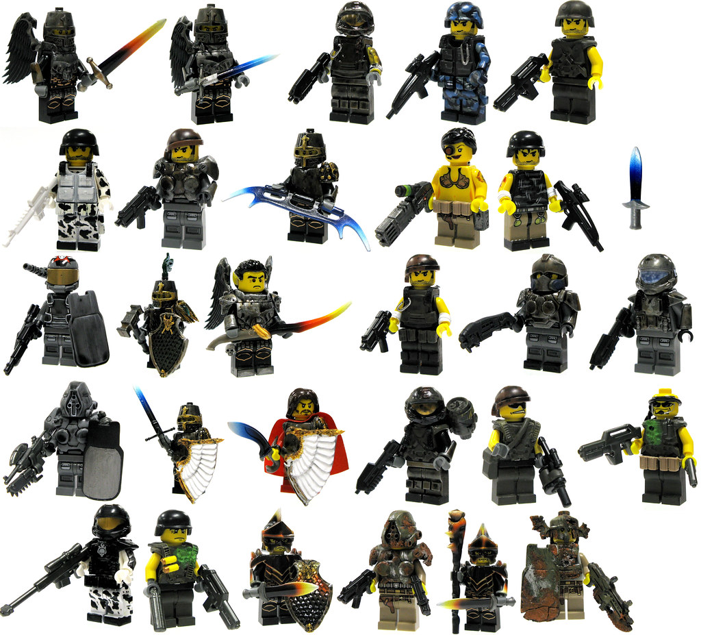 Toywizs most interesting flickr photos picssr brick mercenaries batch 4 voltagebd Choice Image
