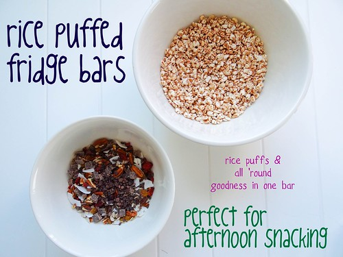 rice puffed fridge bars