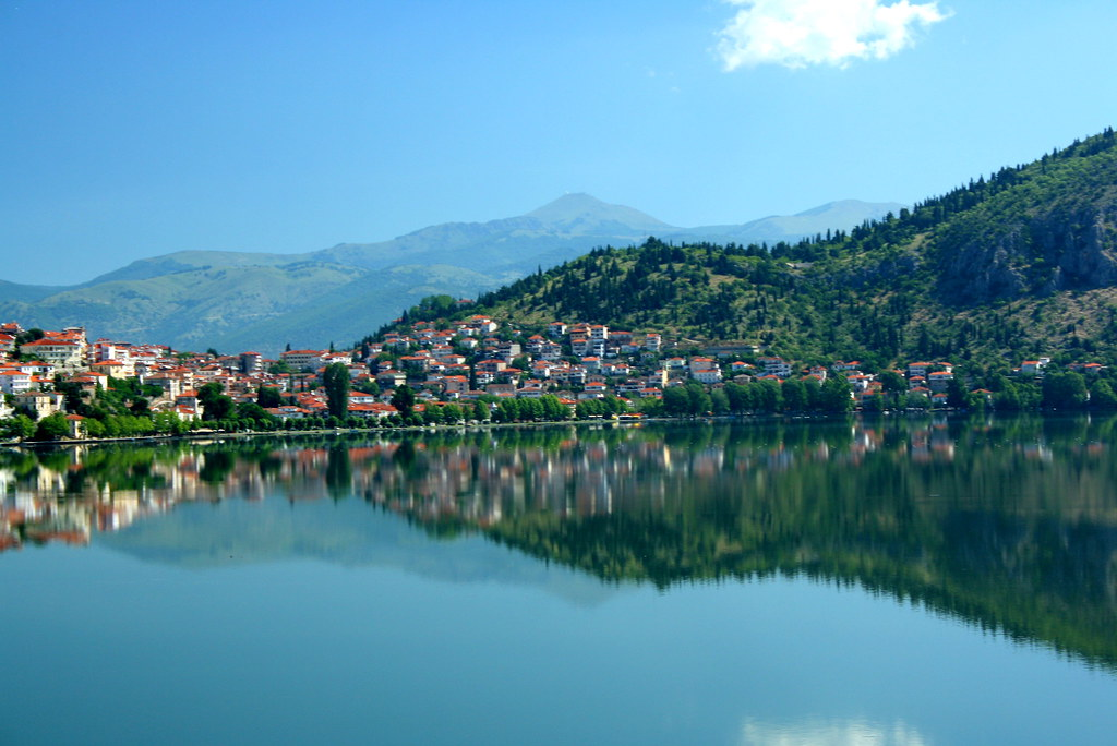 Kastoria Lake Greece