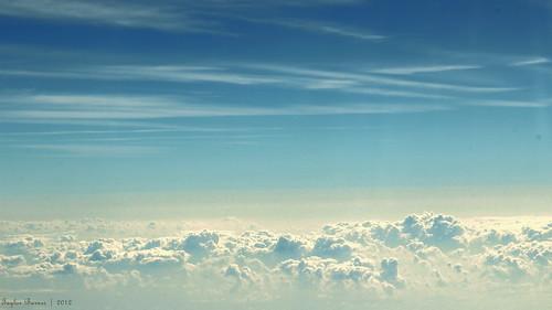 Momentum Above the Cloudly Plains - Vivid